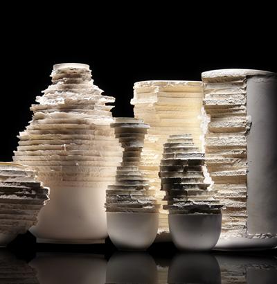 "Ceramicze formy ""Erozja"""