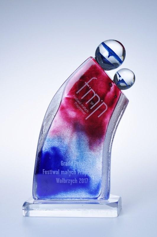 Statuetka Grand Prix Festiwal Małych Premier Wałbrzych 2017